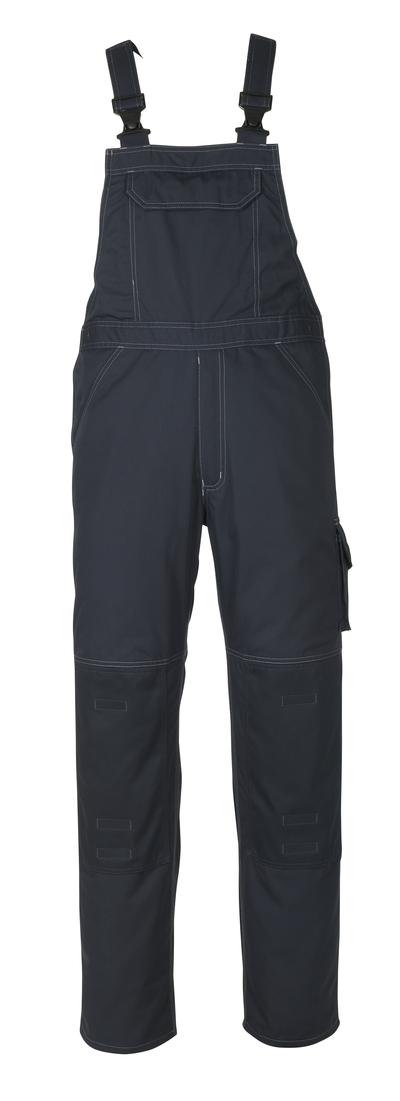 MASCOT® Newark - mörk marin - Snickarbyxor med knäfickor, låg vikt