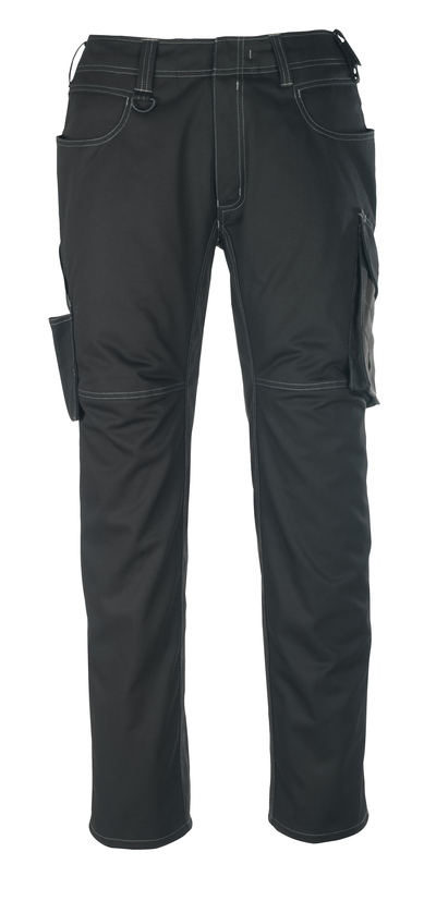 MASCOT® Oldenburg - svart/mörk antracit - Byxor