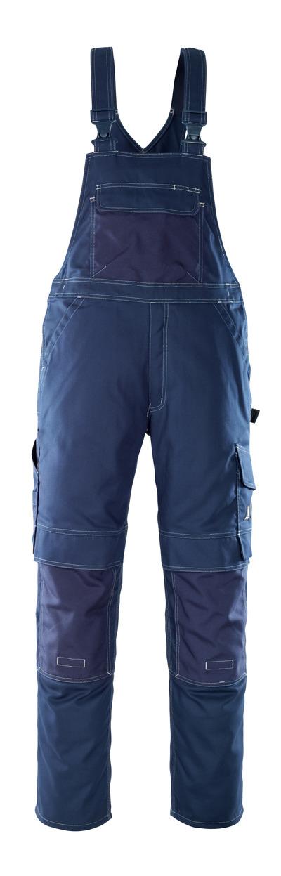 MASCOT® Orense - marin - Snickarbyxor med knäfickor, hög slitstyrka