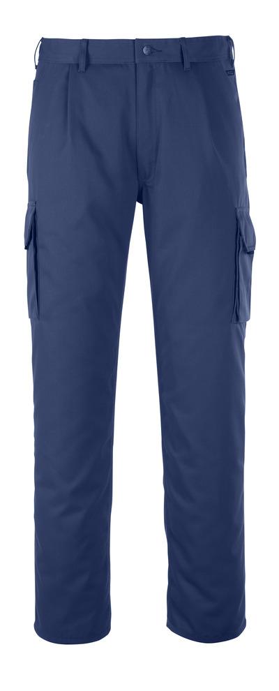 MASCOT® Orlando - marin - Byxor med lårficka, hög slitstyrka