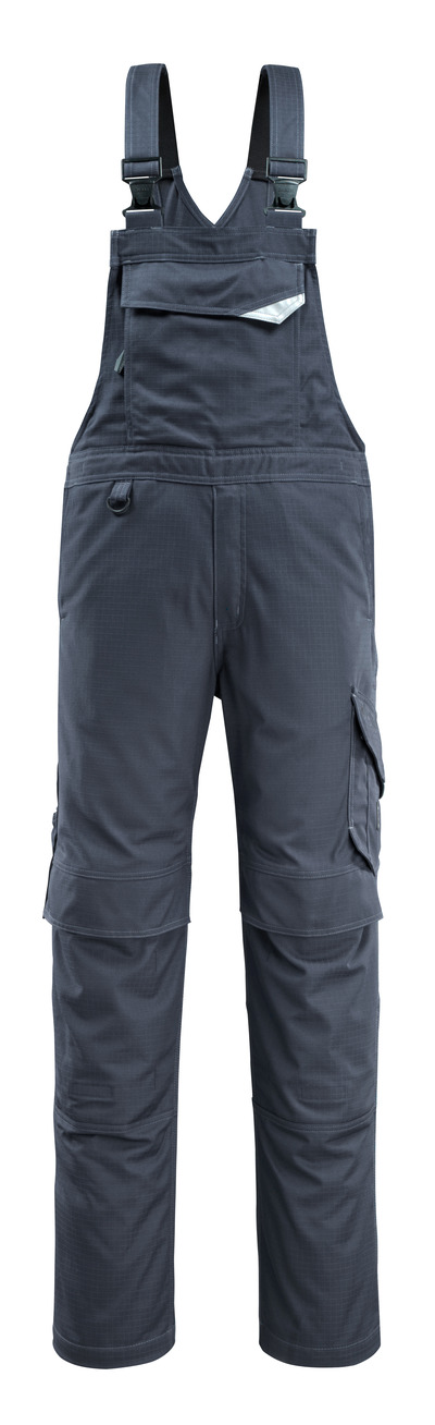 MASCOT® Oron - mörk marin - Snickarbyxor med knäfickor, smutsavvisande, multiskydd