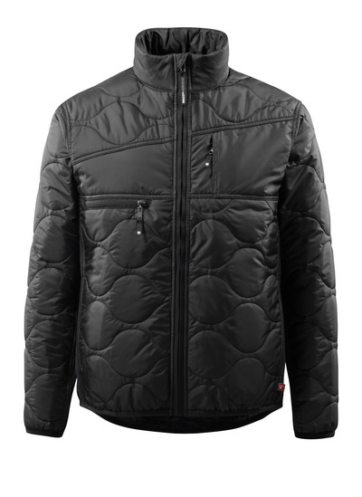 MASCOT® Palencia - svart - Jacka med foder, hög krage och mycket isolerande