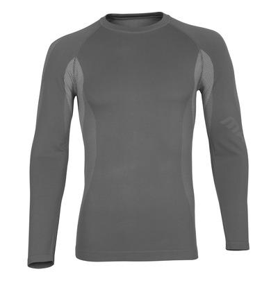MASCOT® Parada - ljus-grå* - Funktionsunderställströja, låg vikt, fukttransporterande
