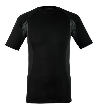 MASCOT® Pavia - mörk antracit - Funktionsunderställströja, kortärmad, låg vikt, fukttransporterande