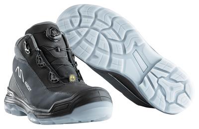 MASCOT® Petros - svart/antracit - Skyddskängor S3 med Boa®-stängning