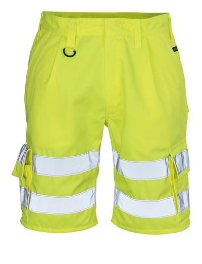 MASCOT® Pisa - hi-vis gul - Shorts, klass 1