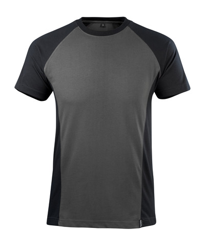 MASCOT® Potsdam - mörk antracit/svart - T-shirt