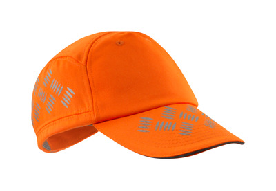 MASCOT® Ripon - hi-vis orange - Keps med ventilationshål, justerbar, reflexeffekter