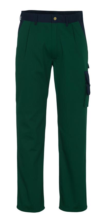 MASCOT® Salerno - grön/marin* - Byxor, hög slitstyrka