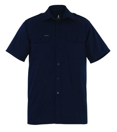 MASCOT® Savannah - marin - Skjorta, kortärmad, klassisk passform