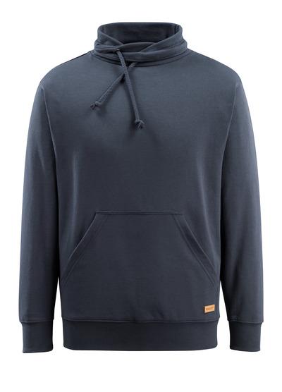 MASCOT® Soho - mörk marin - Sweatshirt med hög hals, modern passform