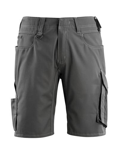 MASCOT® Stuttgart - mörk antracit/svart - Shorts, låg vikt