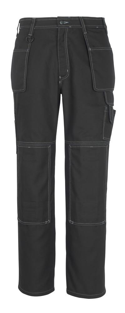 MACMICHAEL® Valera - svart* - Byxor med knä- och hängfickor
