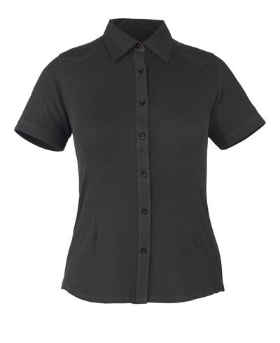 MASCOT® Vatio - svart* - Skjorta, kortärmad