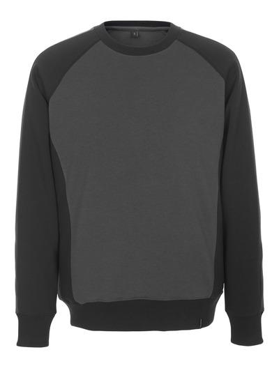 MASCOT® Witten - mörk antracit/svart - Sweatshirt, modern passform